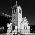 Trinity Church 1871 by David Lee Thompson