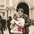 Trinity College Kiss by Alex Art and Photo