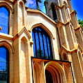 Trinity Episcopal Cathedral Columbia Sc by Lisa Wooten