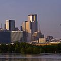 Trinity River Dallas 3 by Debby Richards