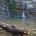 Triple Falls Log H2 by Dylan Punke
