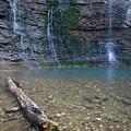 Triple Falls Log V by Dylan Punke