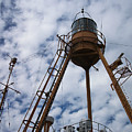 Tripod Lighthouse, Lightship Nantucket Wlv 613 by Lita Kelley