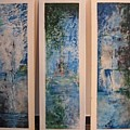 Triptych Spiritual Meditation by Lizzy Forrester