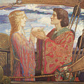 Tristian And Isolde by John Duncan