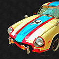 Triumph Gt Pop Art by Edward Fielding
