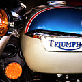 Triumph Motorcyle by Andy Crawford