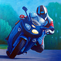 Triumph Sprint - Franklin Canyon  by Brian  Commerford