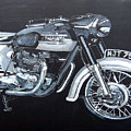 Triumph Thunderbird by Richard Le Page