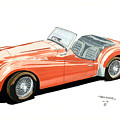 Triumph Tr2 by John Kinsley