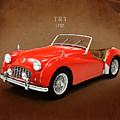 Triumph Tr3 1957 by Mark Rogan