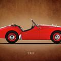 Triumph Tr3a 1959 by Mark Rogan