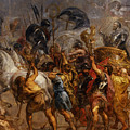 Triumphal Entry Of Henry Iv In Paris by Peter Paul Rubens