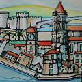 Trogir by Saso  Petrosevski Novak - SPN