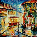 Trolley by Leonid Afremov