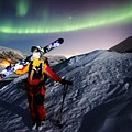 Tromso Winter Skiing by David Broome