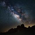 Trona Pinnacles Galactic Core by Mark Jackson