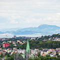 Trondheim, Norway Cityscape by Whitney Leigh Carlson