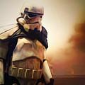 Trooper Landscape by Pixel Chimp