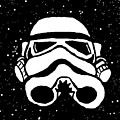 Trooper On Starry Sky by Jera Sky