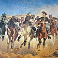 Troopers Moving by Frederic Remington