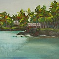 Tropical Bay by Mary McInnis
