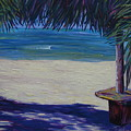 Tropical Beach Shadows by Karen Doyle