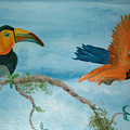 Tropical Birds by Mikki Alhart