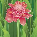 Tropical Flower by Monica Hudson