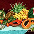 Tropical  Fruits by Jose Manuel Abraham