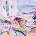 Tropical Getaway by Impressionist FineArtist Tucker Demps Collection