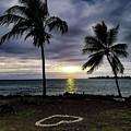 Tropical Hawaiian Sunset by Pamela Walton