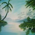 Tropical Lagoon by Jim Saltis