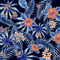 Tropical Leaf Pattern 4 by Stanley Wong