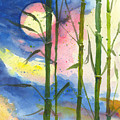 Tropical Moonlight And Bamboo by Darice Machel McGuire