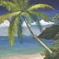 Tropical Palm by Donna Tucker