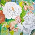 Tropical Rose by Cathy Jourdan