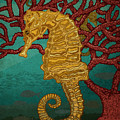 Tropical Seahorses by Carl Conway