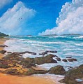Tropical Seascape by Tony Rodriguez