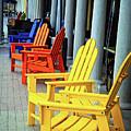 Tropical Seating by Lynn Bauer