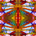 Tropical Stained Glass by Amy Vangsgard