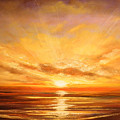 Tropical Sunset 75 by Gina De Gorna