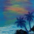 Tropical Sunset by Karen Lee