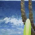 Tropical Surfboard by Jamie Frier