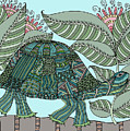 Tropical Turtle by Linda Tetmyer