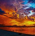 Tropical Twilight II by Charmaine Zoe