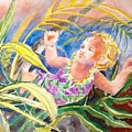 Tropical Water Baby by Diane Renchler