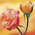 Tropicana Roses 2 by Jan Baughman