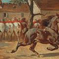 Trotting A Horse by Rosa Bonheur