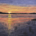 Trout Lake Sunset II by Lynn Quinn